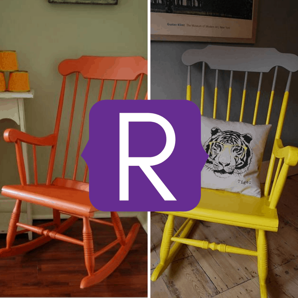 rocking chair upcycles