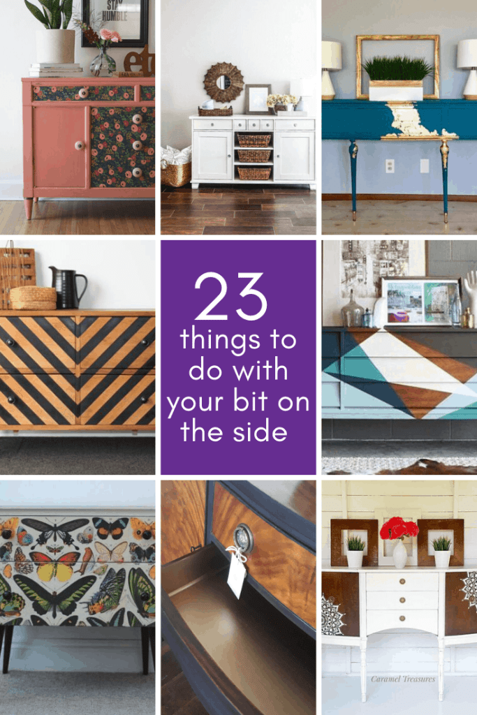 sideboard upcycle ideas