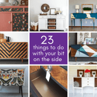 Sideboard Upcycle Ideas - 23 Things to Do with Your Bit on the Side