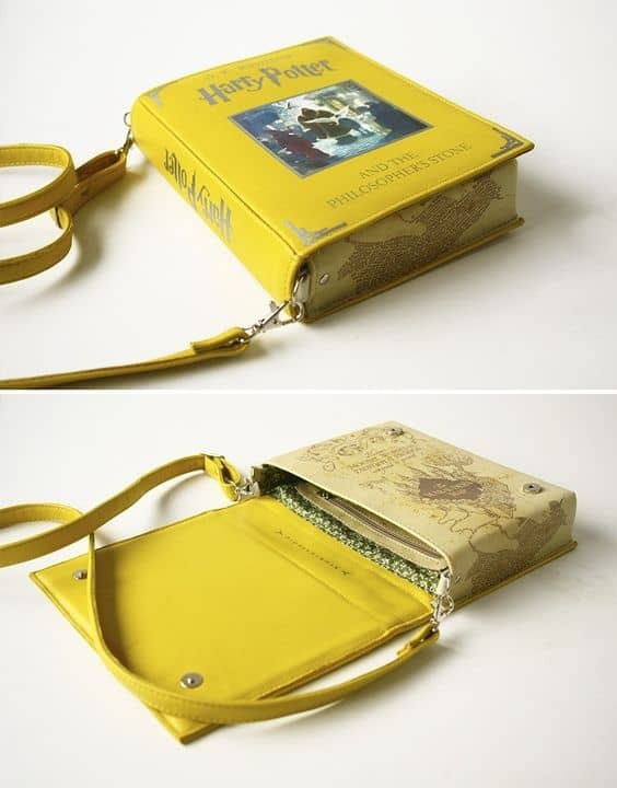clutch made out of a book