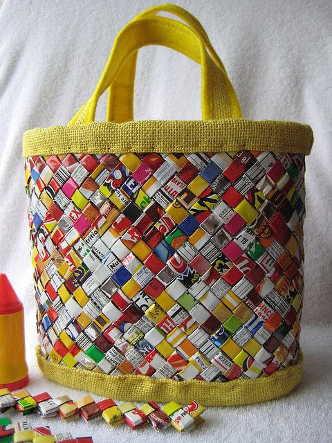 candy bar wrapper bag