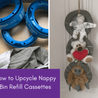 How to Upcycle Nappy Bin Refill Cassettes - Soft Toy Tidy