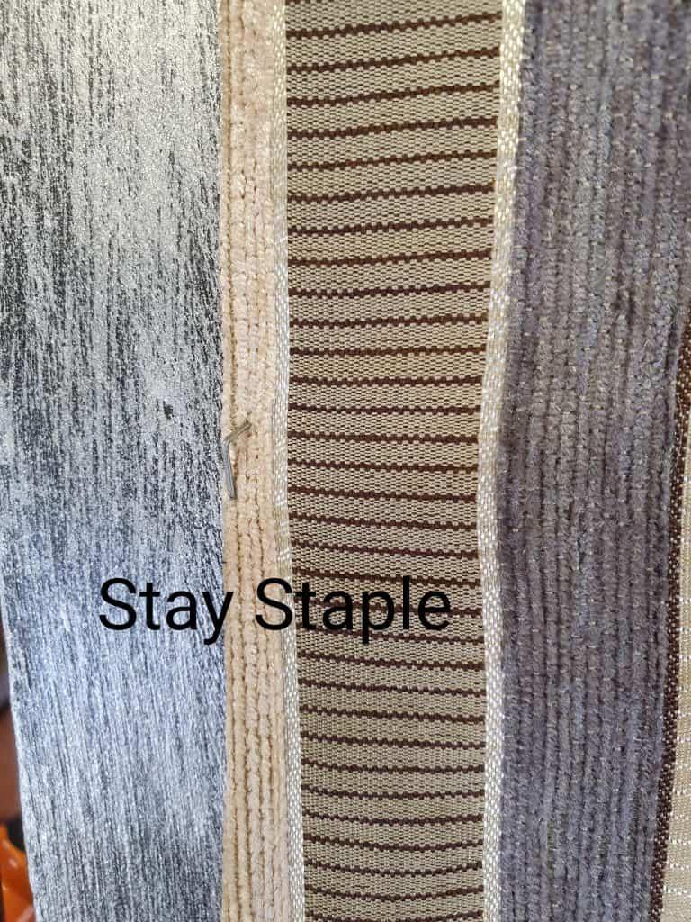 upholstery tutorial stay staples