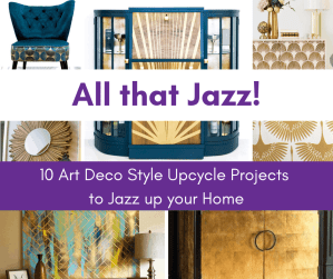 Art Deco style diy decor