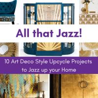 10 Art Deco Style Upcycle Projects to Jazz up your Home
