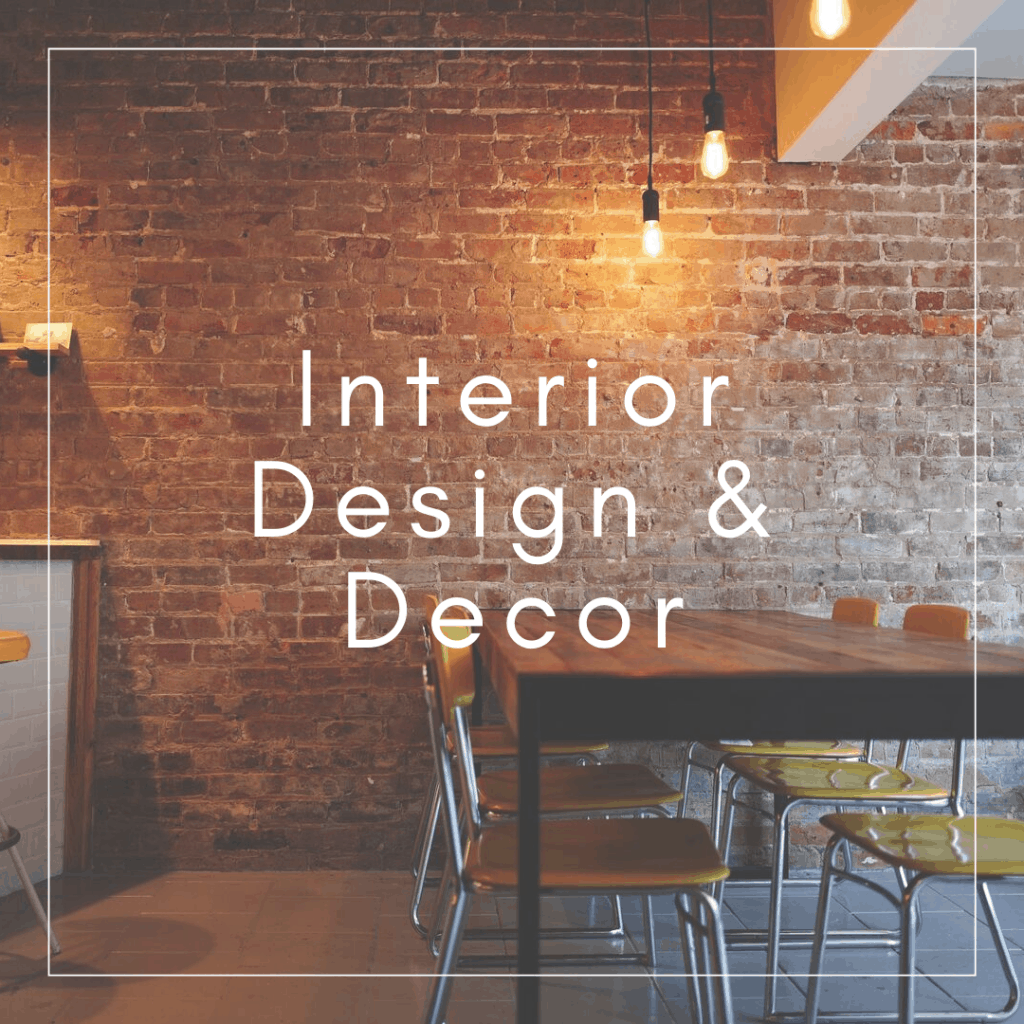 upcycled interior design and decor