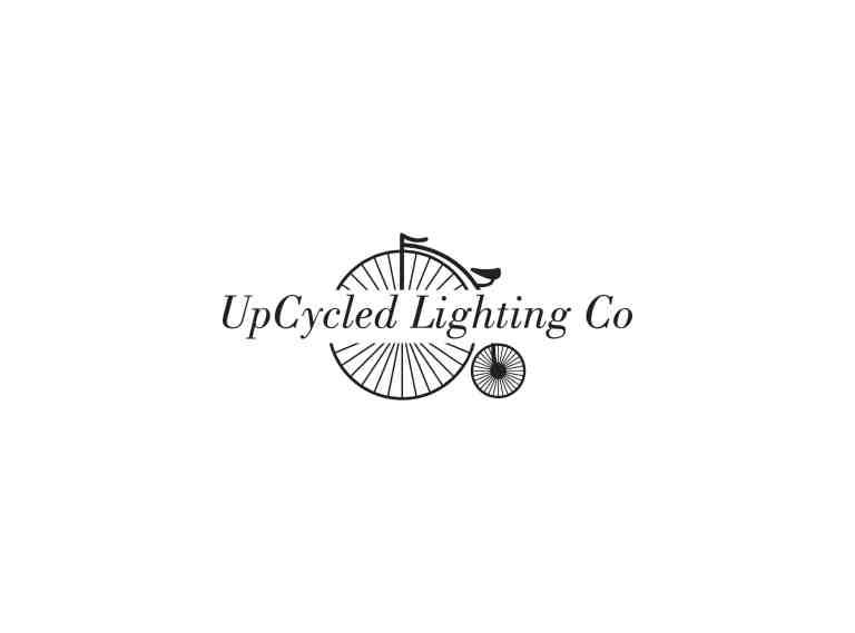 upcycled lighting company logo