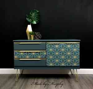 Made by Murphy Art Deco style furniture painter