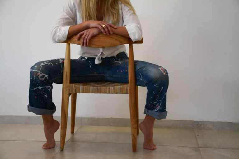upcycled levis 50 jeans