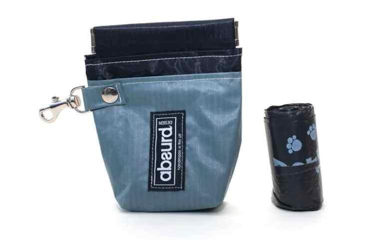 upcycled dog poop bag holder recycled gift