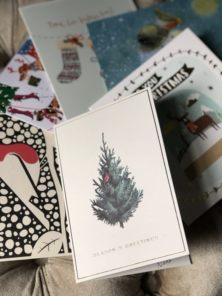 how to reuse christmas cards