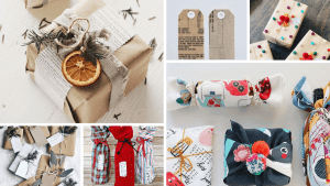 upcycled gift wrap ideas