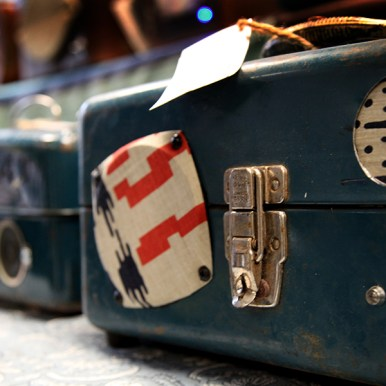 Upcyclepop - Remade in Sacramento - America's first upcycle market Rare Bird stereos