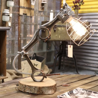 UPcyclePOP - America's first Upcycle Market - picture of lamp sold