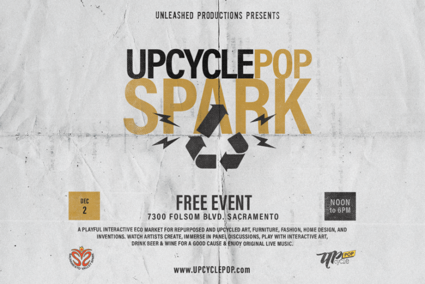 Sacramento Eco Holiday Market - Upcycle Pop