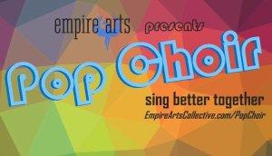 Pop choir singing group