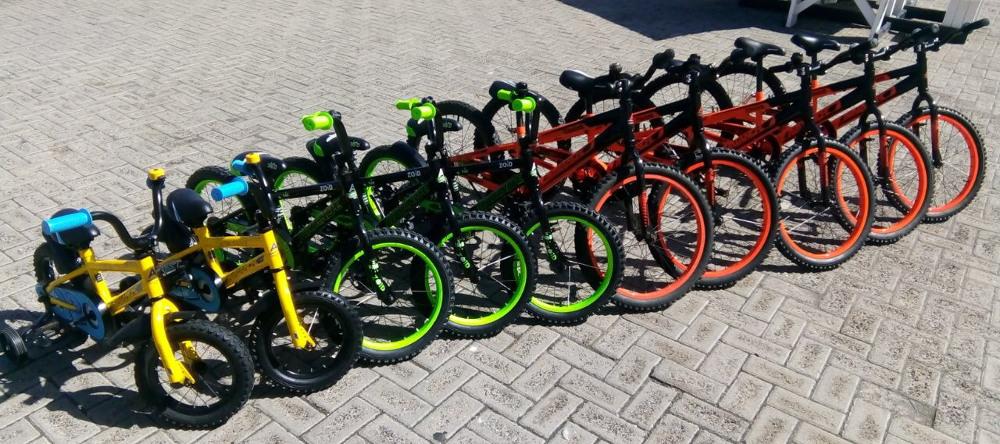 bikes, child bikes, up cycles, bike hire
