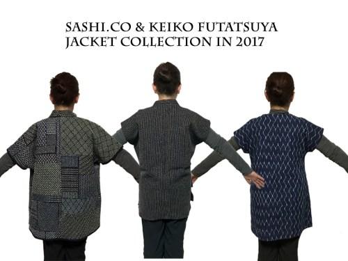 Sashiko Jackets Collection Keiko Futatsuya