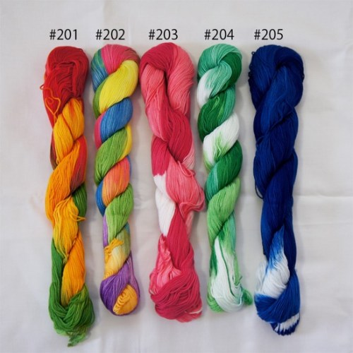 Coron Sashiko Thread Available in USA | gradation color Sashiko Thread.