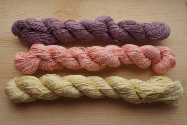 Natural Dye Sashiko Thread