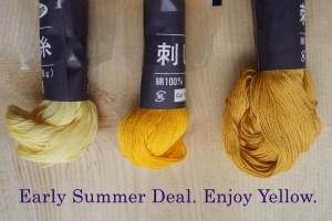 Sashiko Thread Sale Deal