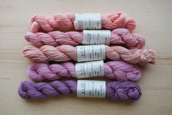 Natural Dye Sashiko Thread List 3