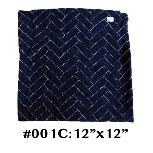 1C Traditional Sashiko Cushion Cover