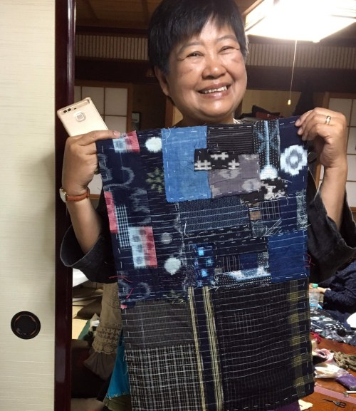 Boro Sashiko Workshop in Japan _1