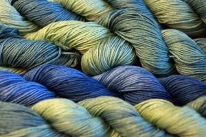 Indigo Dye Sashiko Thread variegated