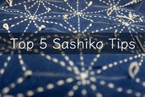 Top 5 Sashiko Tips Cover R