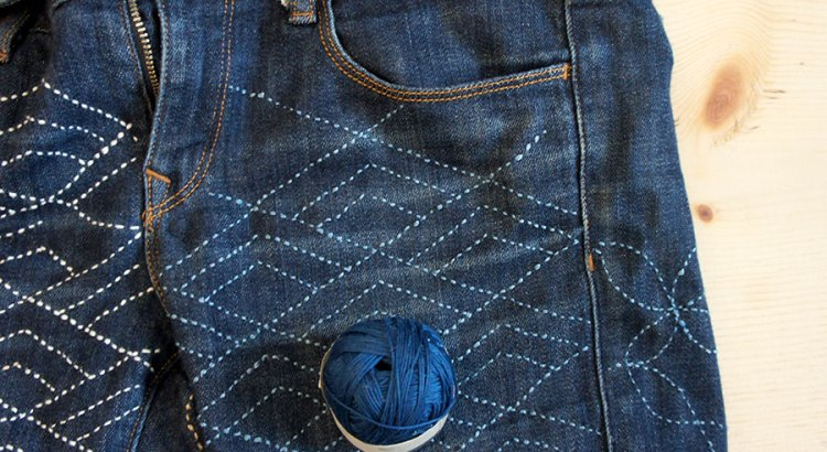 Sashiko THread for Denim Mending