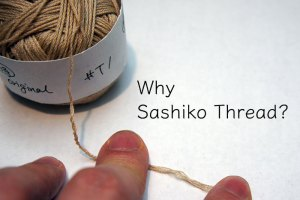 Why Sashiko Thread Cover
