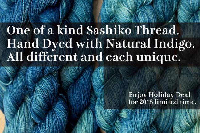 Sashiko Holiday Deal 2018 2