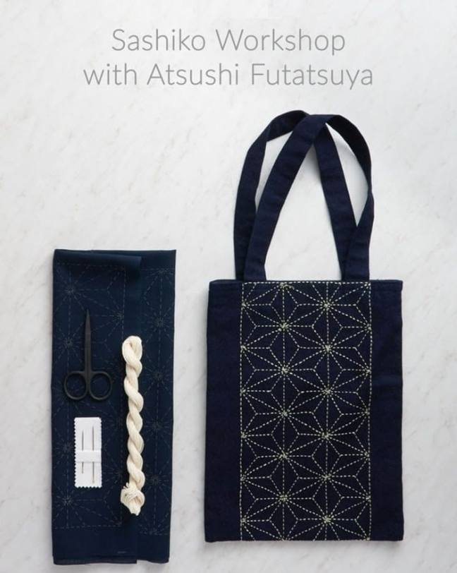 Purl Soho Sashiko Workshop 2019 Flyer