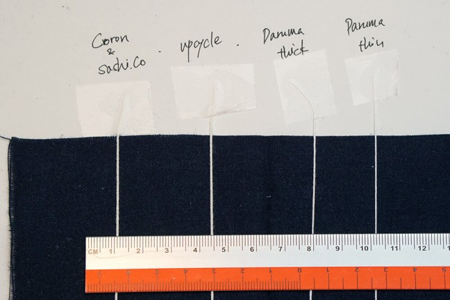 Sashiko Thread Thickness Comparison Cover 1