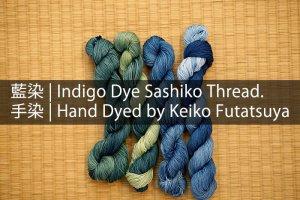 Indigo Dye Sashiko Thread 2019 Cover