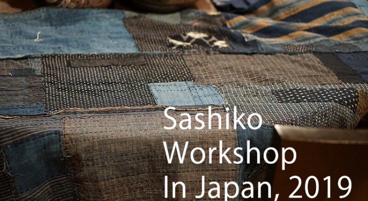 Sashiko Workshop in Japan