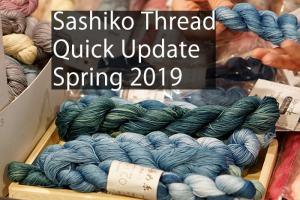 Sashiko Thread Spring 2019 Cover