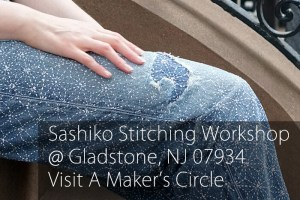 Sashiko Workshop in Gladstone NJ