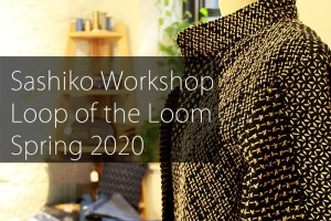Sashiko Workshop at Loop of the Loom Cover