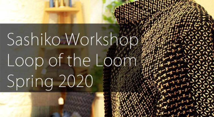 Sashiko Workshop at Loop of the Loom Cover