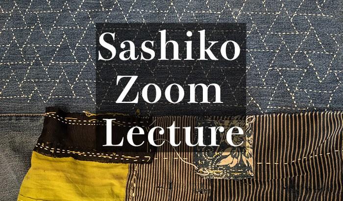 Sashiko Zoom Lecture