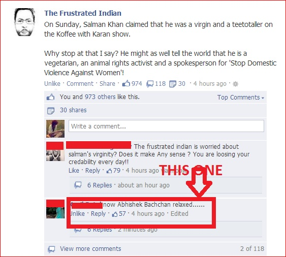 Facebook Funny Comments - Top 10Funny Facebook Graphics