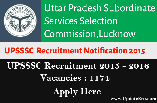 UPSSSC-1174-Driver-Posts-Recruitment-2015