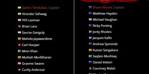 All Stars T 20 Series League 2015 Team Squad