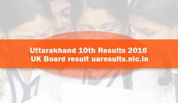 Uttarakhand-10th-Results-2016
