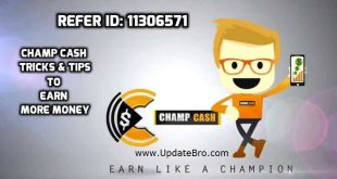 Champ Cash Download Refer ID Tricks Tips