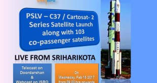 isro pslv c37 launch live-video