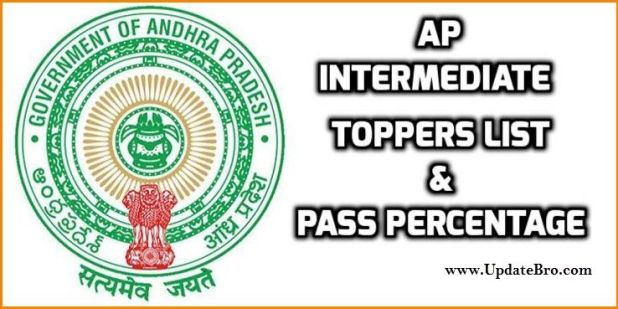 AP Intermediate Toppers List and Pass Percentage