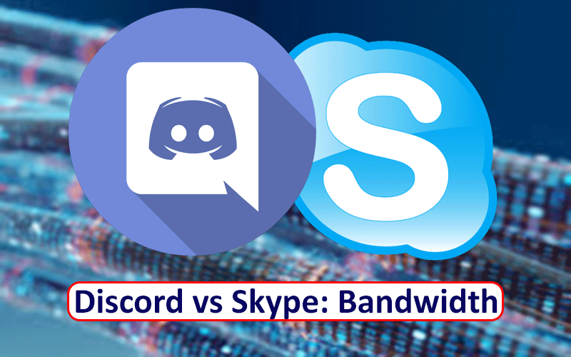 Discord vs Skype Bandwidth